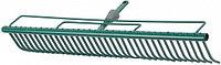 """Грабли RACO """"MAXI"""", для очистки газонов, с быстрозажимным механизмом, 35 зубцов / 600мм"""