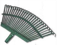 Грабли веерные RACO, 25 плоских зубцов, эпоксидное покр., 450мм