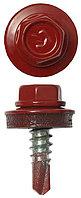Саморезы ЗУБР для крепления кровельных материалов к металлическим конструкциям, оцинкованные, 5,5 x 19 мм,