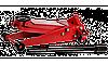 ЗУБР X80 3т, 130-465мм подкатной домкрат с быстрым подъемом для СТО, Профессионал