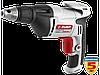 Шуруповерт ЗУБР сетевой,макс. диаметр крепежа 6мм,магнитный держатель,ремешок,0-4500об/мин,патрон HEX