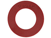 Прокладка диска пластиковая для углошлифовальной машины ЗУБР, 6шт