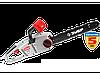 Пила цепная (электропила), ЗУБР ЗЦП-2000-02, продольный двиг-ль, защита руки (тормоз цепи), масляный бачок,