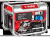 Генератор ЗУБР бензиновый, 4-х тактный, ручной и электрический пуск, 4500/4000Вт, 220/12В