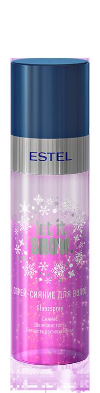 Спрей-сияние для волос ESTEL LET IT SNOW 100 мл.