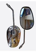 Зеркала 001 овал, хром, разборная стойка ф10мм