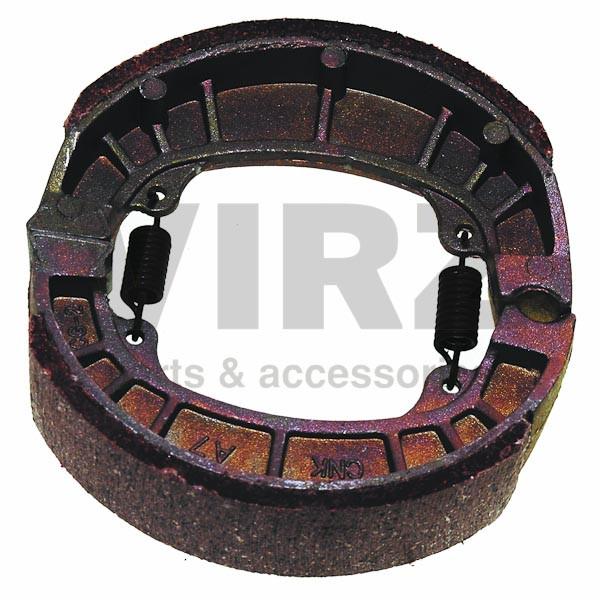 Колодки тормозные барабанные (105x25mm) DELTA,ALPHA,CG125 передние (задние R50, STORM)