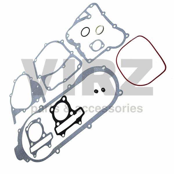Прокладки двигателя комплект 4Т 157FMI D57; (CG125), PLUTON, MINSK