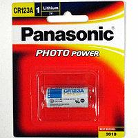 Батарейка Panasonic CR123A 3V, lithium power