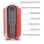 Расширительный мембранный бак для систем отопления (сменная мембрана) V=50 л, WRV 50, фото 2
