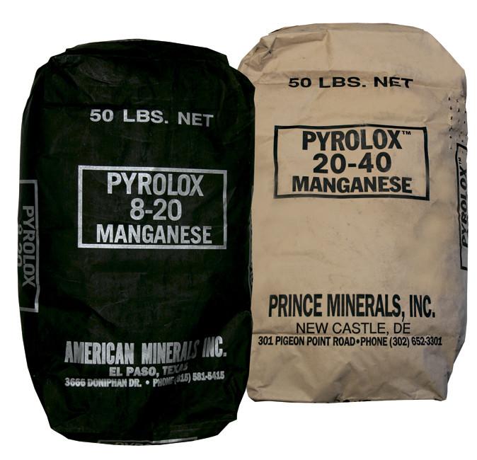 Pyrolox (Засыпка для удаления растворенного железа)