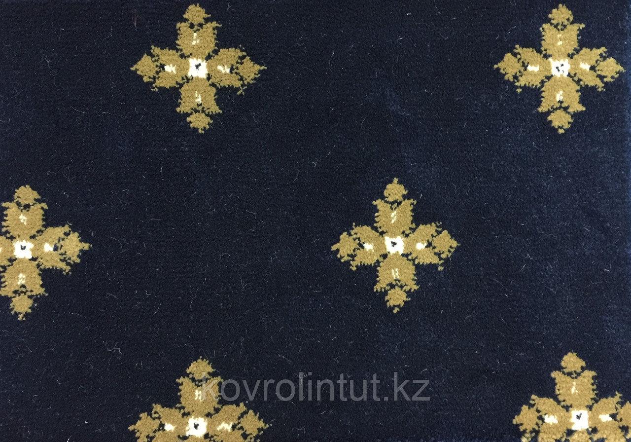 Ковролин Atlas 2702 8 41311 Синий с крестами (9мм) 4,0м опт/розн