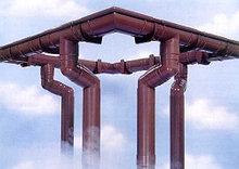 Водосточная система пластиковая коричневая