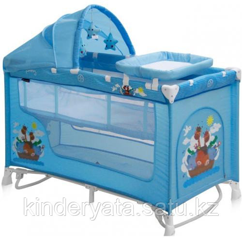 Кровать-манеж Lorelli Nanny 2 Plus Rocker