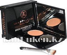 Матовые тени мини для век и бровей Anastasia Beverly Hills Brow Powder Duo (04)