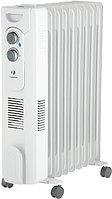 Радиатор электрич. 12 секц. масл. с тепловент 2900Вт QT бел. Timberk TOR 31.2912 QT