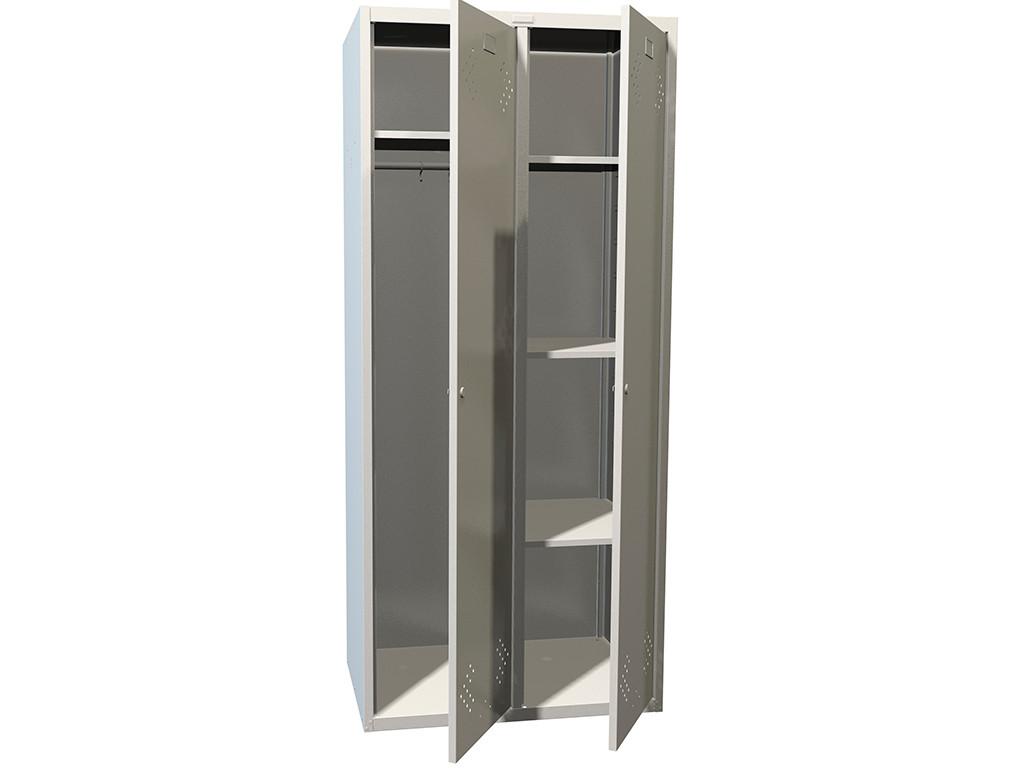 Шкаф для раздевалок металлический LS 21U (локер)