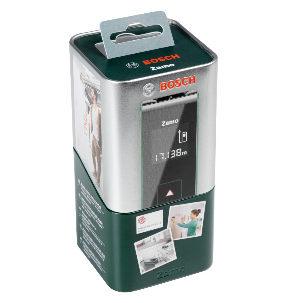Лазерный дальномер BOSCH Zamo II (Tinbox) 603672620