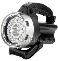 Фонарь галогеновый светодиодный 25 W+11 LED 90532 (002)