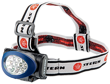 Фонарь наголовный светодиодный 3 режима 10LED Stern 90562 (002)