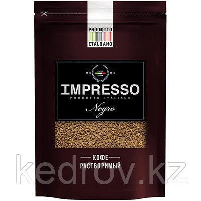 """""""IMPRESSO Negro"""" кофе сублимированный, 100 гр дой-пак."""