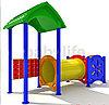 Детский уличный игровой комплекс  «Дворик1»,