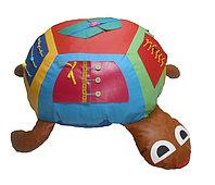 «Черепашка» игрушка напольная дидактическая (эконом) 70см, фото 1