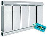 Алюминиевый радиатор Tipido 400/1, фото 3