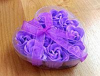 """Мыло """"Лепестки роз"""" фиолетовое, фото 1"""