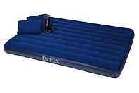 Двухспальный надувной матрас Intex 68765, размер 203x152x22 см, фото 1