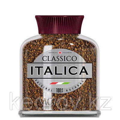 """""""ITALIKA"""" кофе сублимированный, 100 гр стекло."""