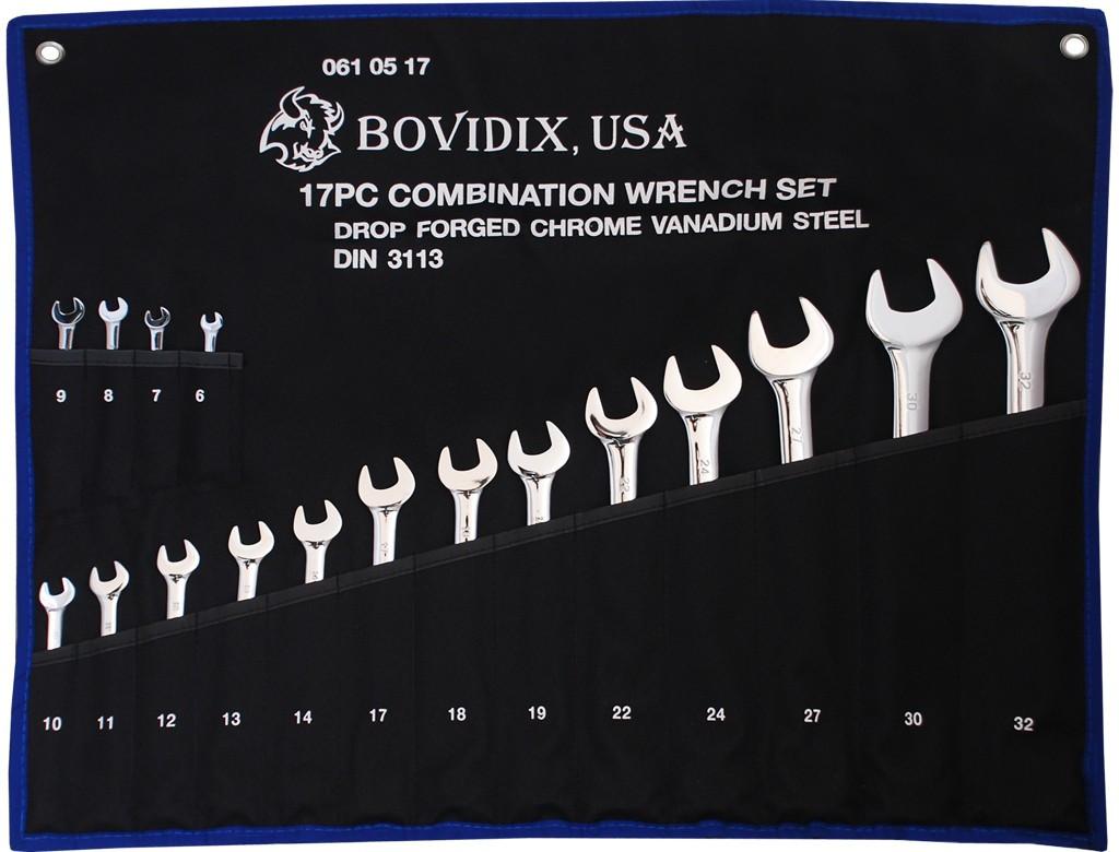 Набор рожково-накидных ключей (6-32мм) Bovidix