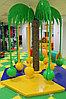 Карусель Кокосовая пальма механическая