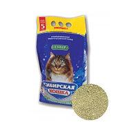 Наполнитель кошачьих туалетов Сибирская Кошка Супер для котят комкующийся