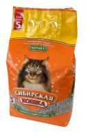 Наполнитель кошачьих туалетов Сибирская Кошка Бюджет впитывающий