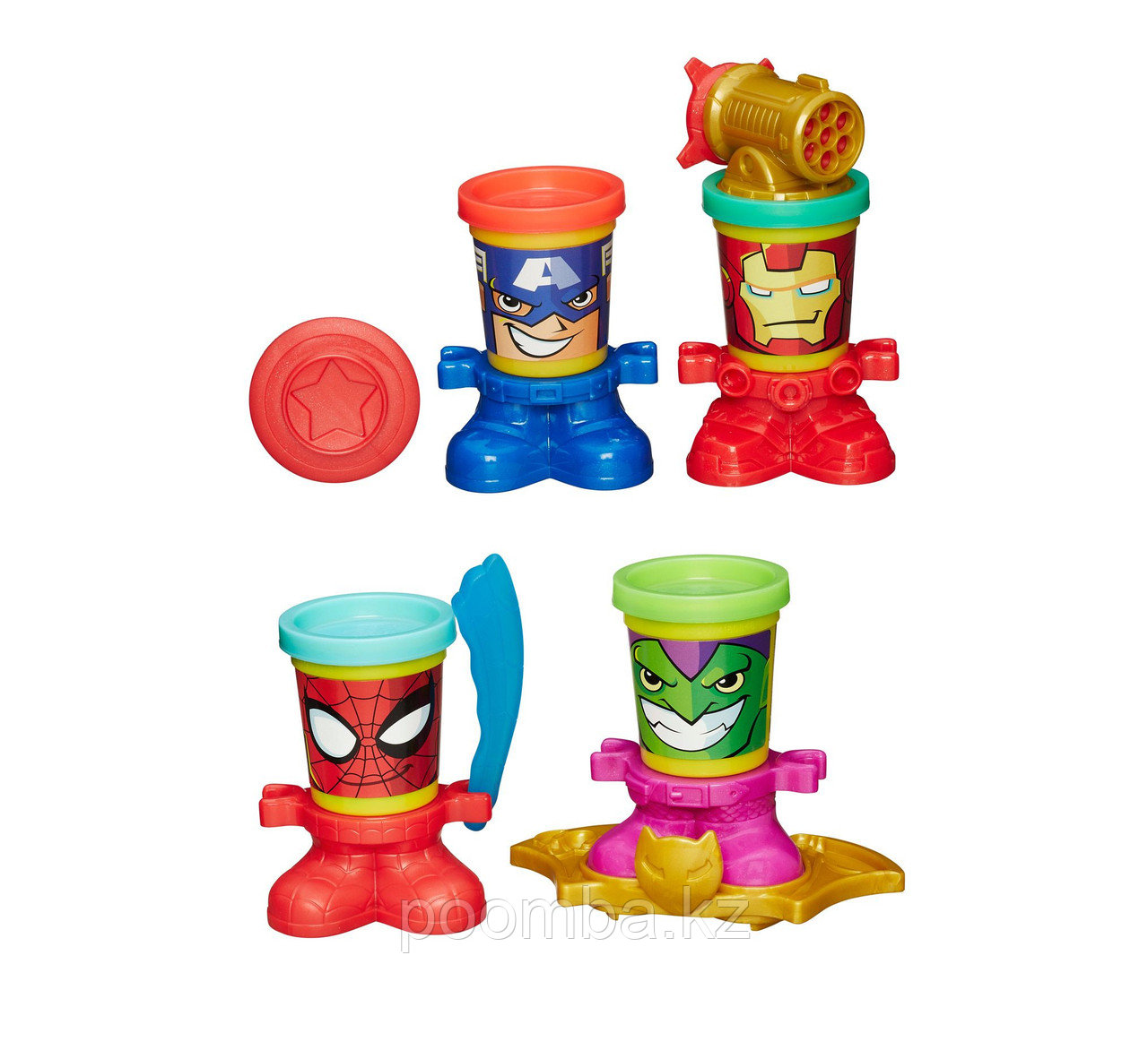 Play-Doh Герои Марвел в асс.