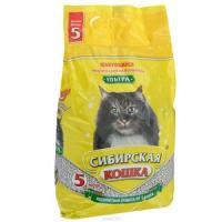Наполнитель кошачьих туалетов Сибирская Кошка Ультра комкующийся