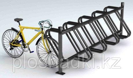 Велопарковка высокая черная