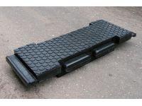 Резинобетонные и резиновые плиты (настилы) на железнодорожные переезды