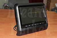 Подголовники с монитором DM-9B черные, DVD, экран 9 дюймов, пульт-джойстик, фото 1