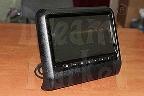 Подголовники с монитором DM-9B черные, DVD, экран 9 дюймов, пульт-джойстик