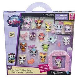 """Hasbro Littlest Pet Shop """"Городская мода"""" Набор зверюшек-малышей"""