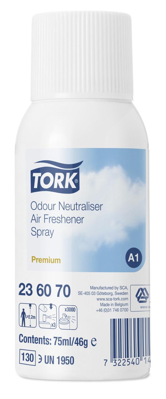 Tork аэрозольный освежитель воздуха, нейтрализатор запахов 236070