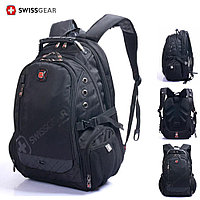 """Backpack,Textile,Black,Audio out,15.6"""",SWISS GEAR Multifunction (рюкзак ,матерчатый)  M:1418"""