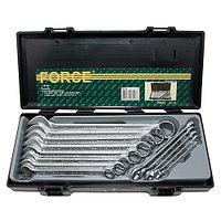 Набор рожково-накидных дюймовых ключей Force 5134 (13пр.)