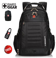 """Backpack,Textile,Black,Audio out,15.6"""",SWISS GEAR Multifunction (рюкзак ,матерчатый)  M:1419"""