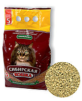 Наполнитель кошачьих туалетов Сибирская Кошка Универсал впитывающий