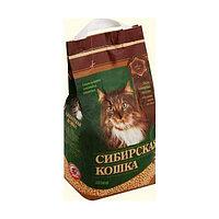 Наполнитель кошачьих туалетов Сибирская Кошка Лесной древесный