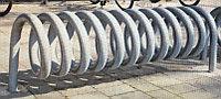 Велопарковка металлическая пружина