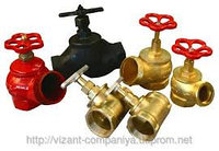 Клапан пожарного крана КПЧ-50 угловой Чугун (125)